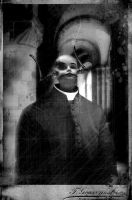 Portrait of Reverend K by maRtinOpiate