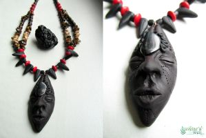 Shamanito necklace by SuvetarsWell