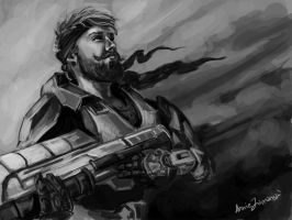 Unmasked Master Chief by Anniez19