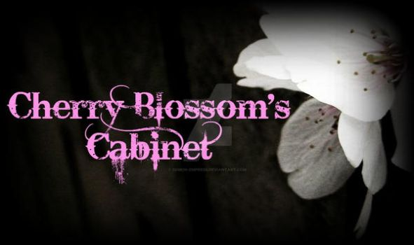 Cherry Blossom's Cabinet Banner by demon-empress