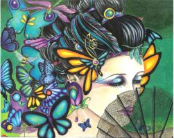Madame Butterfly by csmalls