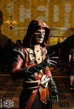 Ermac CEO Cosplay by Dragosiege