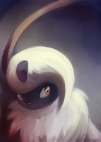 Absol Portrait by Togechu