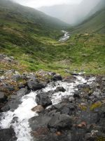Crow's Pass Stream 2 by prints-of-stock