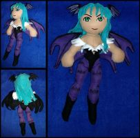 Morrigan Ainsland Plushie by Threnodi