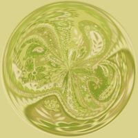 Green Paisley by didi1959