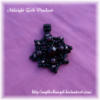 Midnight Goth Pendant by MythrilAngel