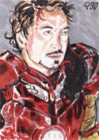 Iron Man Unmasked by tdastick