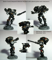 Raven Guard Vanguard Veteran Sergeant by Belazikkal