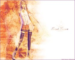 FFXIII Serah Farron Wallpaper by MaybeTomorrow07