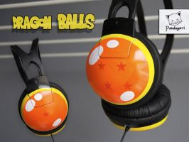 Auriculares Dragon Ball headphones by Pandagorri