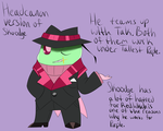 Invader Zim headcanon Skoodge ref by ReneesDetermination