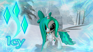 Icy (Original and new look) by Snowflakelicious