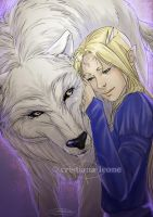 Eden and Fenris by CristianaLeone