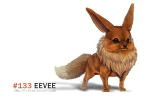 Realistic Eeve by TheK40