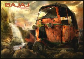 Bajaj-Vehicle That Stood Againts Time by andytantowibelzark