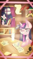 Studying by PlatinumPoinsetta