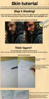 How to draw: Realistic Skin by LinaKaye
