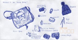 6. Whats in Your Bag? by like-textas