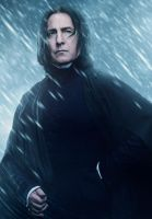 Snape by LifeEndsNow