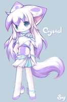 Crystal Anthro by Effier-sxy