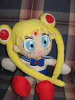 sailor moon plush by Gris-chan