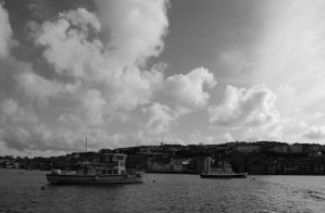 Falmouth seafront by Puckmonkey