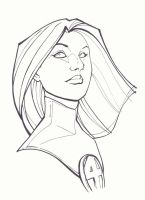 Invisible Woman by KidNotorious