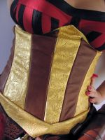 Sabrina Glevissig The Witcher 2 leather underbust by yinco