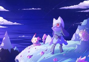 PMD, Sky Peak Mountain by DrawerElma