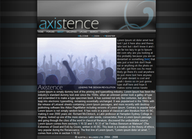 Axistence Design by Austin8159