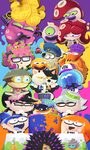 HAPPY 1ST ANNIVERSARY SPLATOON by SrPelo