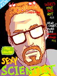 sexy scientists monthly by fibralo