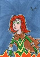 Hope Summers Sketch Card by johnnyism