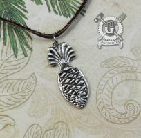 Spoon Pineapple Necklace by Doctor-Gus