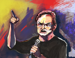 Portrait of Lewis Black by Chamfruit