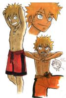 Naruto doodles by VanOxymore