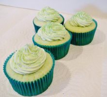 Appletini Cupcakes by Stephanefalies