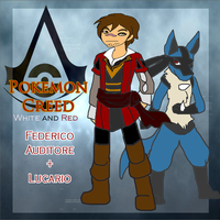 Pokemon Creed: Federico and Lucario by Asoq