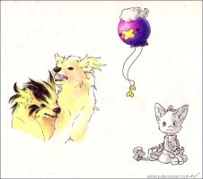 Some doodls by ashkey