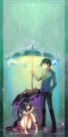 Come Under My Umbrella by yuumei