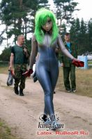 Latex mermaid in the country by latex-rat