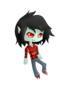 chibi marshall lee by OXxDarkStarxXO