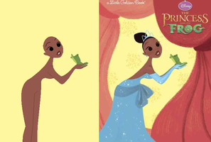 Princess And Frog Book Base by Raygirlbases