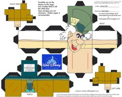 Dis19: Mad Hatter Cubee by TheFlyingDachshund