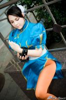 Chun Li cosplay by coffeejelly