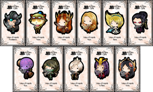 league of legends keybies by silverei