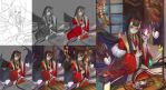Step by step Hannya Girl by Rokudo-Aurora