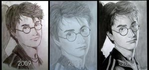 Harry Potter drawings by mystic-pUlse