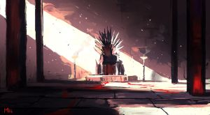 Empty Throne by DominikMayer
